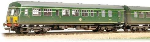 Bachmann 32-286A Class 101 2 Car DMU BR Green Yellow Panel Weathered