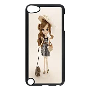 LSQDIY(R) Doll iPod Touch 5 Personalized Case, Customised iPod Touch 5 Case Doll