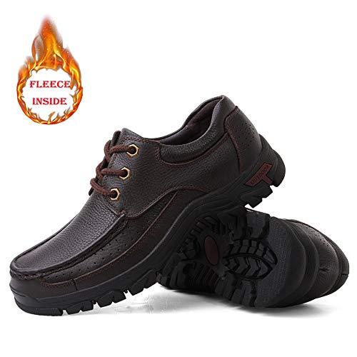 Ville 39 Pour À Brown shoes Warm Chaussures De Homme Eu Sry Lacets taZvFqxw