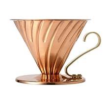 Hario V60 02 Copper Plated Ceramic Coffee Dripper