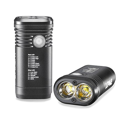 Lupine Lighting Systems Piko TL MiniMax 1500 Lumen Programmable Rechargeable LED flashlight