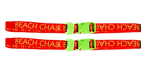 - Beach Chair Buddy Towel Straps (2-Pack)