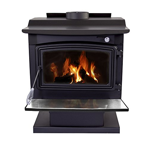 Pleasant Hearth 2,200 Sq. Ft. Large Wood Burning Stove (Best Wood Pellets For Heating)