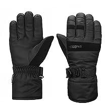 SNOTEK Men's Winter Ski Gloves for Ski, Snowboarding Snowmobiling
