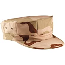 Tri-Color Desert Camouflage Marine Corps Fatigue Cap