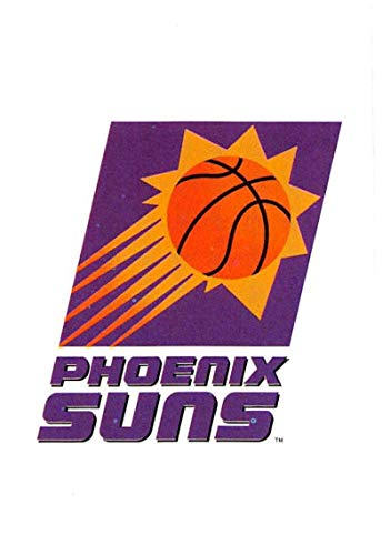 1995-96 Upper Deck Collector's Choice European Stickers Basketball #25 Phoenix Suns Phoenix Suns Logo 2 1/4 Inch Wide by 3 1/4 Inch High Album Sticker ()