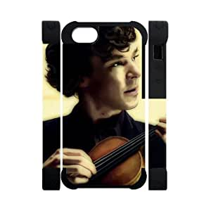 meilz aiaiPerfect Arts Hot Movie Sherlock Holmes Unique Custom IPHONE 5 or 5S Best Polymer+Rubber Cover Casemeilz aiai