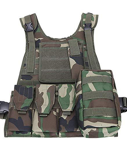 ThreeH Gilet tactique militaire Paintball équipement de police équipement de protection 1