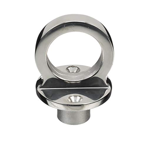 ing Eye Without Cleat - Polished 316 Stainless Steel - 1-1/2 ID Ring Eye ()