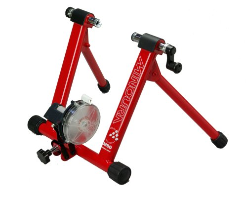 UPC 740966404930, Minoura M80LT-W Dual Hub 7-Level Bicycle Trainer without Remote