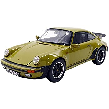 Norev 1/18 Scale diecast - 187575 Porsche 911 Turbo 3.3 1977 Olive Model Car