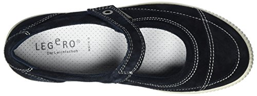Legero Dames Platte Slipper Tanaro Blauw, (pacific) 8-00822-80
