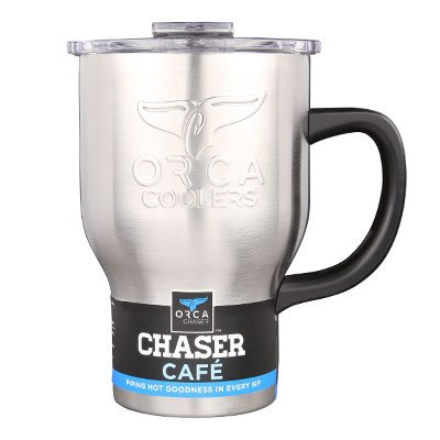 Orca ORCCHACAF Chaser Cafe Travel Mug, 20-oz. - Quantity 12 by ORCA Coolers