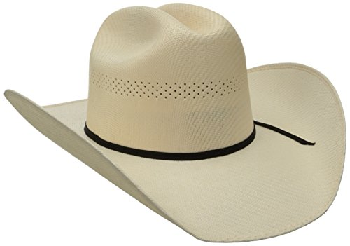 Tony Lama Men's Ranch - Cali Straw Cowboy Hat, Natural, 7
