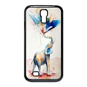 Hjqi - Custom Love Elephants Phone Case, Love Elephants DIY Case for SamSung Galaxy S4 I9500