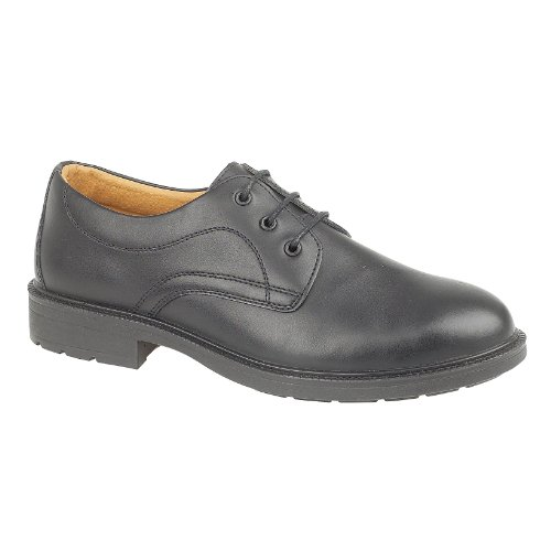Amblers Safety Mens FS45 Leather Safety Shoes Black negro - negro