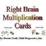 Right Brain Multiplication Cards