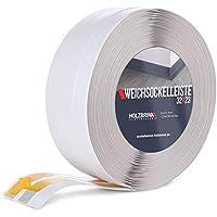HOLZBRINK Rodapiés flexible autoadhesivo Cenizo Rodapiés flexible 32x23