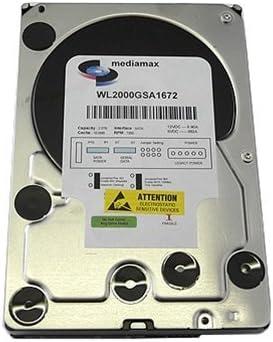 """New 2TB 2000GB 64MB Cache 7200RPM SATA2 3.5/"""" Desktop Hard Drive PC /& Mac"""