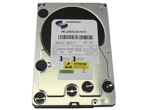 (White Label 2 Terabyte (2TB) 16MB Cache 7200RPM SATA2 3.5