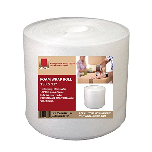 UBOXES Foam Wrap Roll