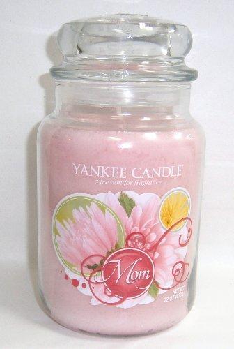 1 X MOM 22 Oz Large Jar Yankee Candle Plumeria Scented (Plumeria Scented Candles)