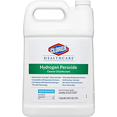Clorox Healthcare Hydrogen Peroxide Cleaner Disinfectant, Refill, 128 Ounces (30829)