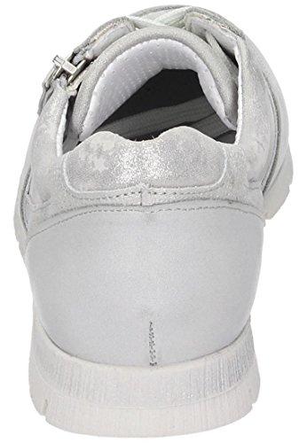 Comfortabel Mujeres Zapatos Con Cordones Plata Plata