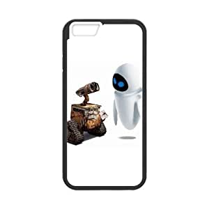 Wall E And Eve Cartoon iPhone 6 4.7 Inch Cell Phone Case Black Customize Toy zhm004-3865903