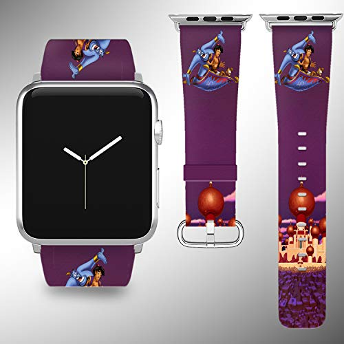 Wrist Band Strap with Cartoon Design Compatible with Apple Watch iWatch All Series 38 40 42 44 mm Series 1 Series 2 Series 3 Series 4 Leather Replacement Strap