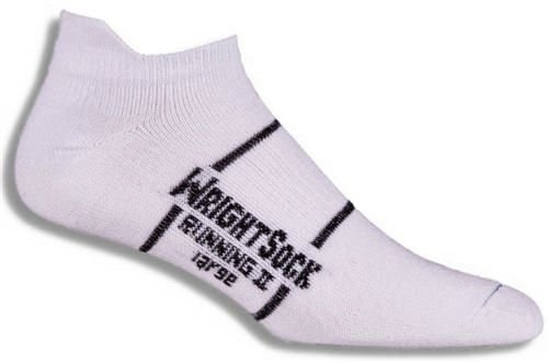 Wrightsock Running II No Show with Tab Socks Size: Large White