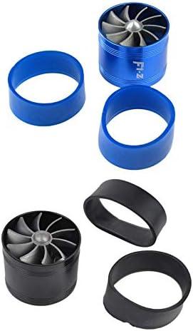 Huante F1-Z Motore Universale Turbina Unilaterale Aspirazione del Motore Turbocompressore Alimentazione Carburante Acceleratore Accessori Blu