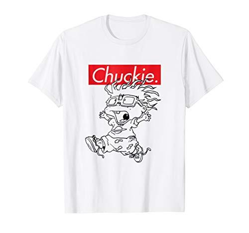 Rugrats Creaming Chuckie Throwback Characters T- Shirts -