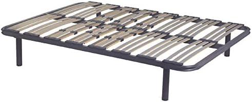Mivis - Somier de acero multilaminas de abedul, tamaño 150 ...