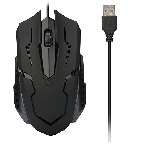Kanzd For PC Laptop 1200 DPI USB Wired Optical Gaming Mice (Bloody Mouse Costume)