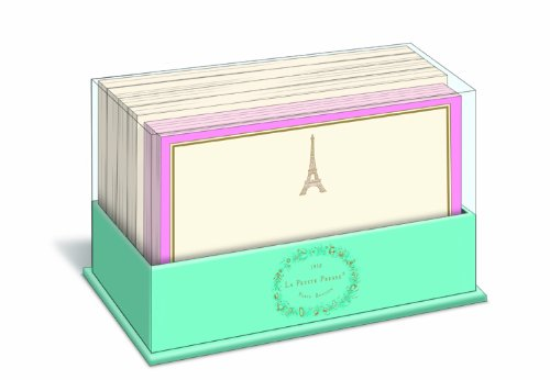 Note France - Eiffel Tower - Graphique de France Box of 50 Blank Note Cards