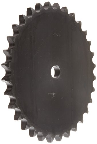 (Browning 60A32 Plate Roller Chain Sprocket, Single Strand, Type A Hub, Steel, 3/4