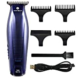 MAYBUY Mens Hair Clippers Beard Trimmer Electric Cordless Rechargeable Body Hair Mustache Stubble Clippers Grooming Kit Gift for Man Husband Boyfriend