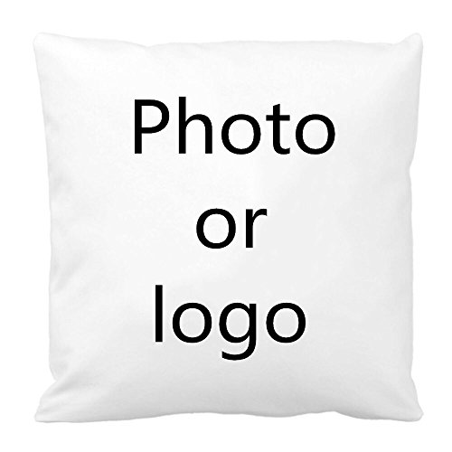 Use Any Photo or Logo Custom Pillow Cases+Pillow Inserts Soft Forging Silk Fabric Office or Home Personalized Pillow Covers Throw Pillows