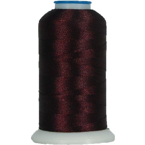 Mahogany Polyester Thread (Polyester Embroidery Thread No. 300 - Mahogany - 1000M)