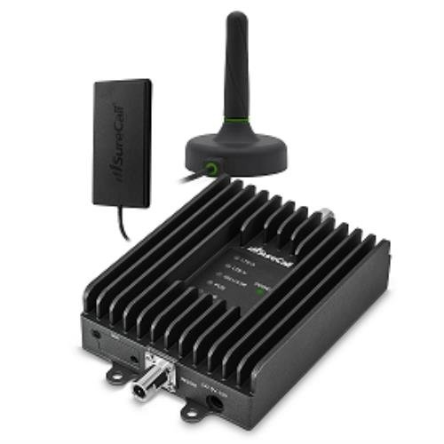 SureCall Fusion2Go 3.0 In-Vehicle Cell Phone Signal Booster Kit for Car, Truck or SUV, All Carriers 3G/4G LTE