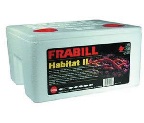 Frabill Habitat II Foam Worm Box with Super-GRO -