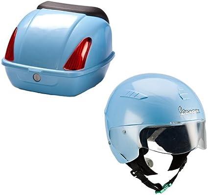 itsImagical - Vespa Safety Helmet & Rear Box, Casco y ...