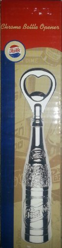 Pepsi Cola Collectible Chrome Bottle Opener by PepsiCo