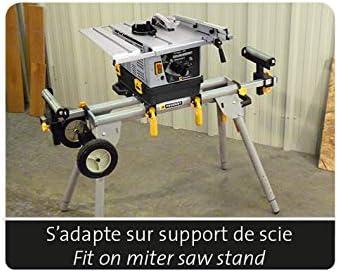 ENERGYSaw 254 B - Sierra circular de mesa con aspirador integrado - 1200 W -Hoja 165 mm 50 dientes - Eje 20 mm: Amazon.es: Bricolaje y herramientas