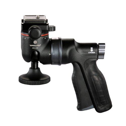 18 opinioni per Vanguard GH-200 Testa a Sfera con Impugnatura a Pistola Pistol Grip con Piastra