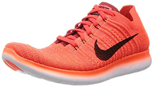 Free Bright Black Red Running Crimson University Nike 2017 Men's Shoe Flyknit RN HwxnS5q