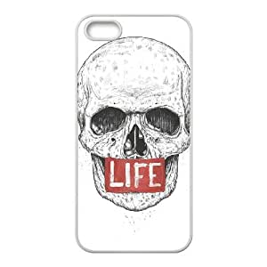 iPhone 5 5s Cell Phone Case White LIFE Iaems