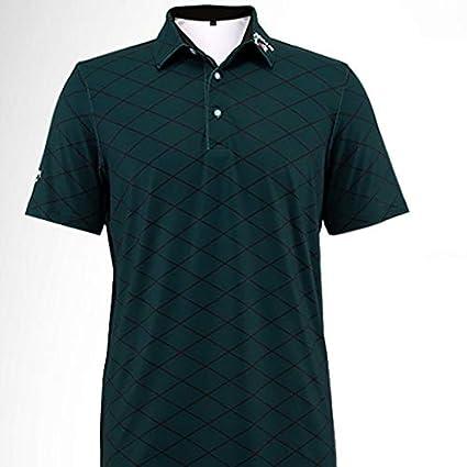 b024808d5 HWTP Pgm Golf Men Summer Anti Sweat Training T-Shirt Breathable Cotton  Short Sleeve Sportswear