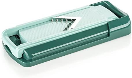 Genius Nicer Dicer Fusion – Cortador en espiral por | 16 piezas | emeraldgreen | cortador de fruta y vegetales | as seen on TV: Amazon.es: Hogar